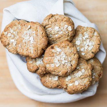 Biscotti al miele e crusca di Avena - Ricette di Molino Chiavazza