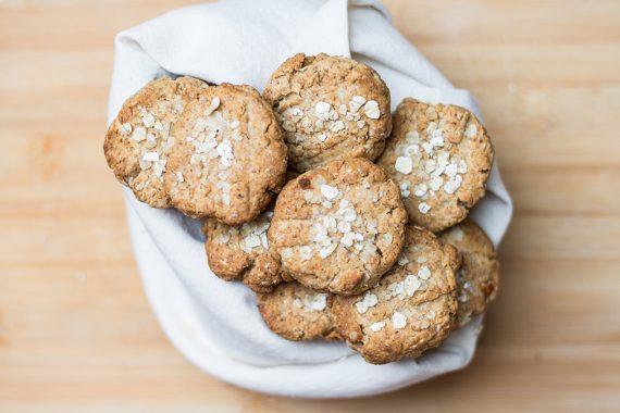 Biscotti al miele e crusca di Avena