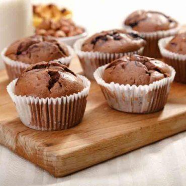 Muffins - Preparato per torte e dolci integrali al cacao