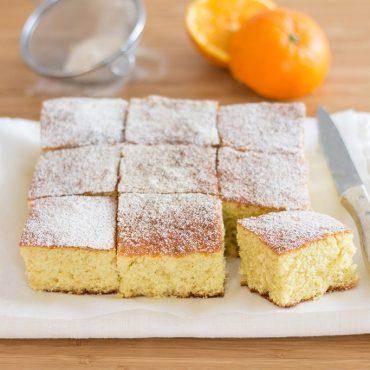 Torta soffice all'arancia e olio extravergine d'oliva - Ricette di Molino Chiavazza