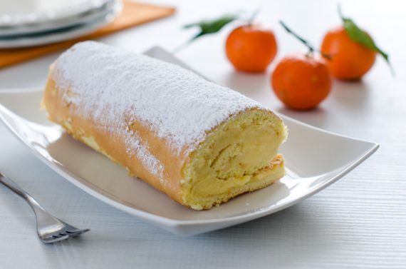 Rotolo alle clementine