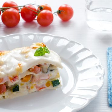 Lasagnette rustiche al ragù di verdure