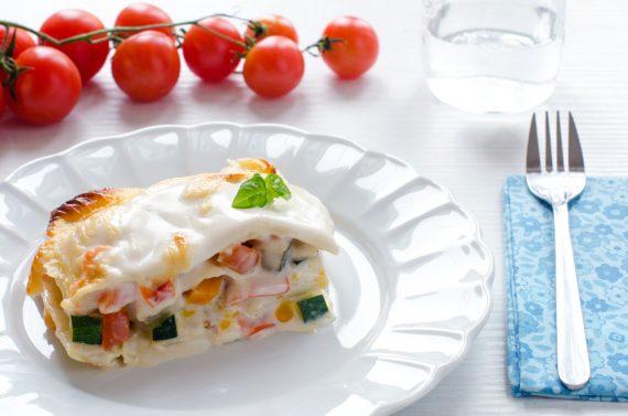 Lasagne al ragu di verdure