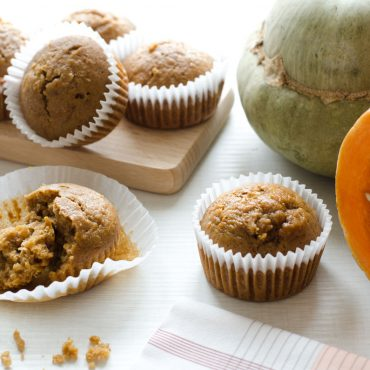 Muffin integrali con zucca e cannella