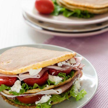 Pancakes Salati Con Farina Di Riso